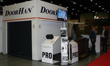 Продукцию DoorHan представили на строительной выставке в Санкт-Петербурге