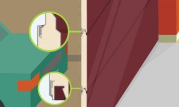 Защита от расслоения панелей секционных ворот АЛЮТЕХ (видео)