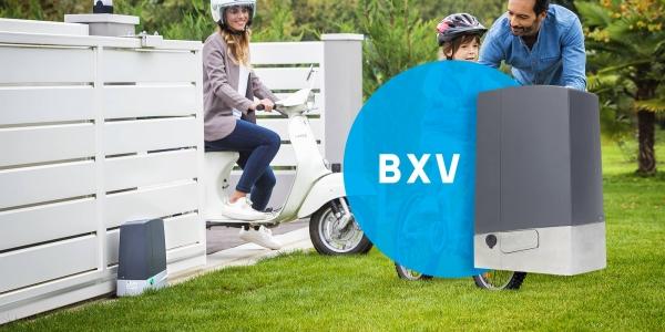 BXV — новинка для откатных ворот!