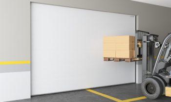 Промышленные секционные ворота ISD ThermalPro для морозильных камер